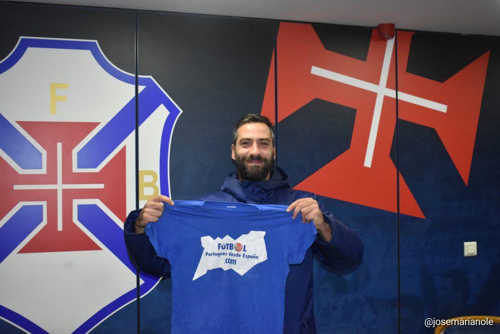 Nuno Oliveira, técnico de CF Os Belenenses
