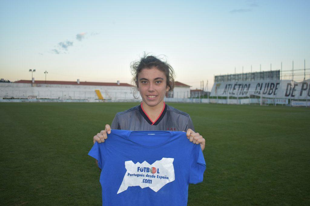 Paula Domínguez Encinas es la jugadora española con más títulos en Portugal.