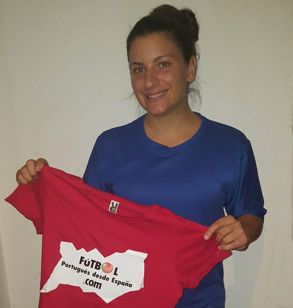 Mafalda Marujo, jugadora de AMora FC.