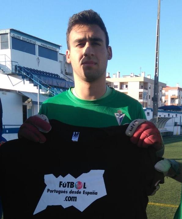 Jorge Balseiro en su etapa en Pinhalnovense