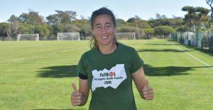Carolina Mendes con la selección Portuguesa