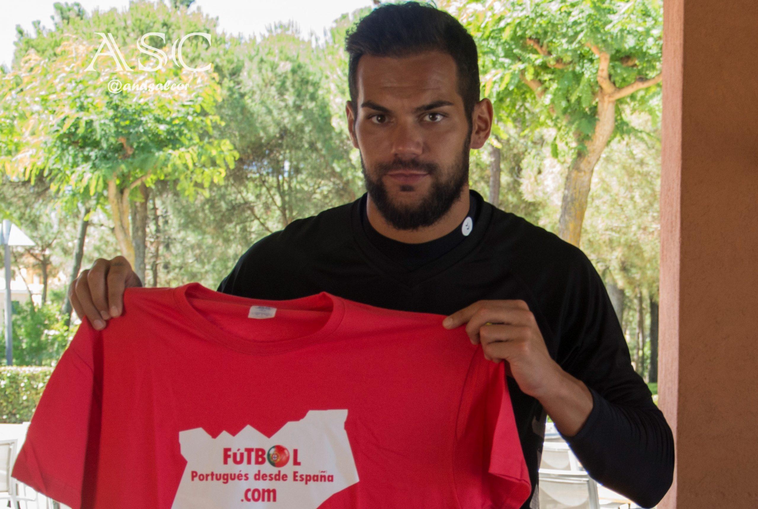 Entrevista exclusiva a Cristiano Figueiredo, guardameta portugués enrolado en Vitoria FC, equipo con el que disputará la Liga NOS por segunda temporada consecutiva.