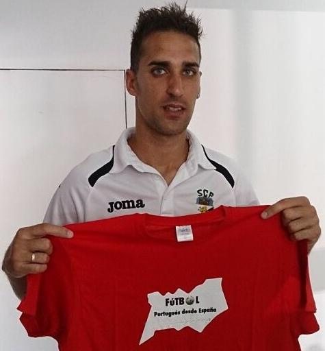 Ubay Luzardo, capitán de SC Farense, disputó 56 partidos en el club.