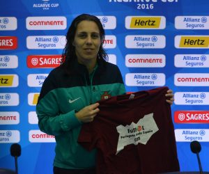 Edite Fernandes es la segunda jugadora portuguesa con más partidos internacionales.