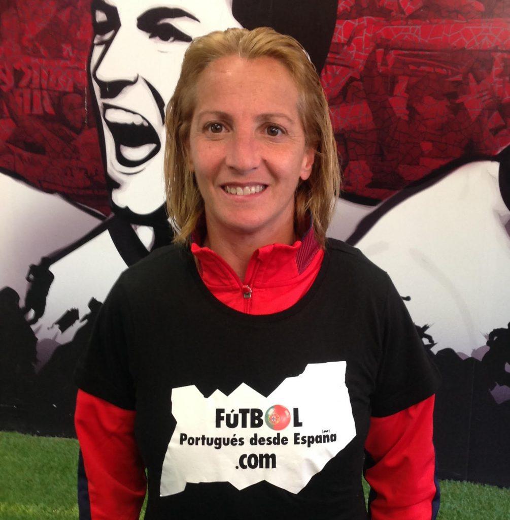 Entrevista a Alicia Fuentes (Totalán, 1978), uno de los nombres propios en la historia del fútbol femenino en España.