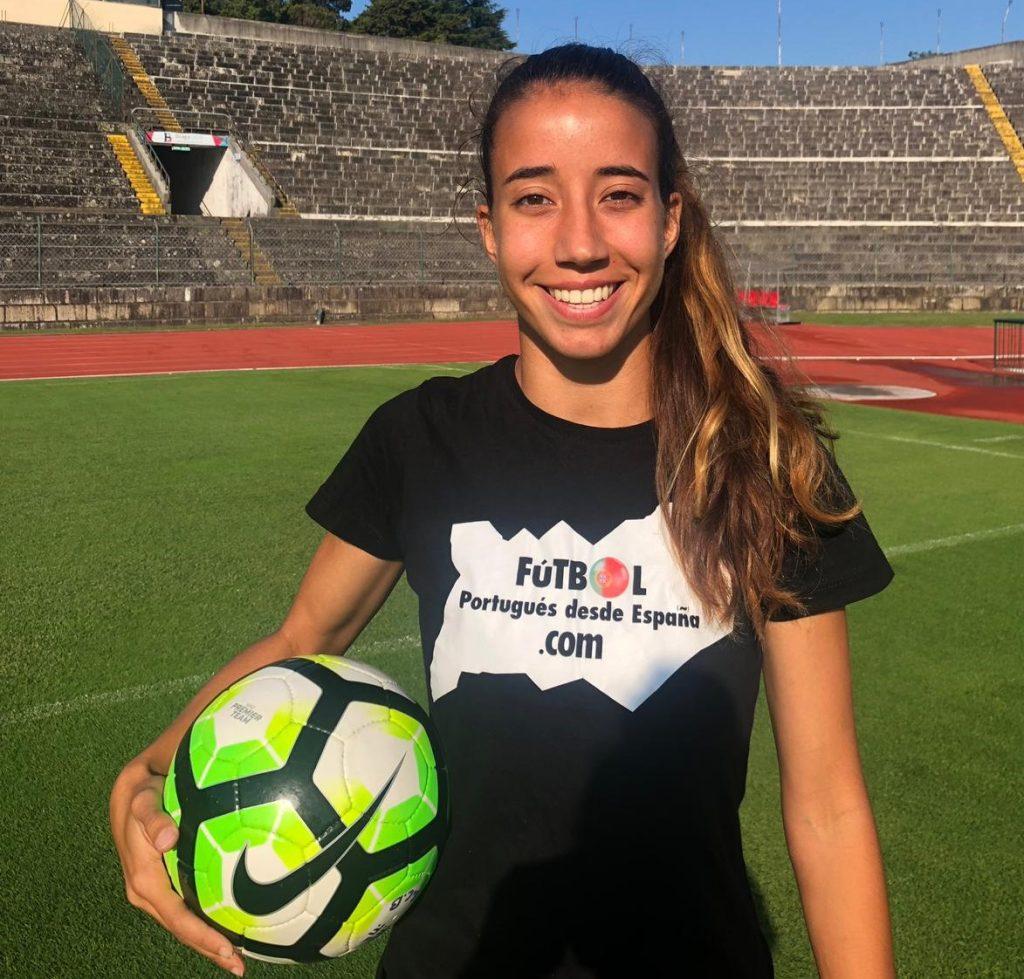 Entrevista a Francisca Cardoso, jugadora internacional con Portugal.
