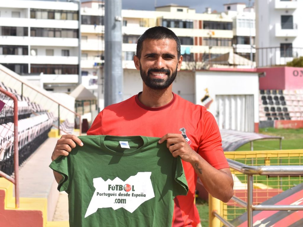 Rodrigo Dantas, fichaje estrella de SC Olhanense