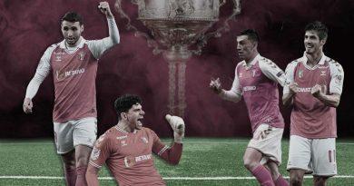 Las 9 finales de SC Braga en 11 temporadas