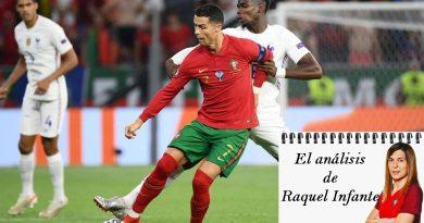 Raquel Infante analiza el Portugal 2-2 Francia