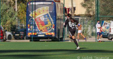 """Joana Simões: """"Estaba preocupada por Ana Rita y el partido estaba difícil, pero conseguí ayudar al equipo"""""""